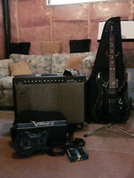 Guitar, amp and effects package