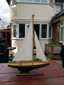 Model Sailing Yacht, used for sale  Esher, Surrey