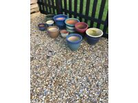 Selection of Garden Pots
