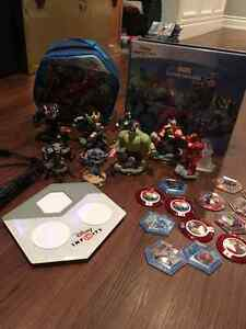 Disney infinity Marvel with 11 characters