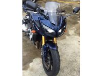 Yamaha fazer 1000cc excellent condition.