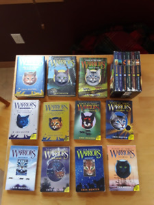 WARRIORS BOOKS SET