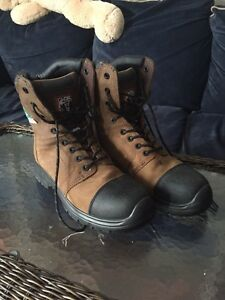 Brand new steel toe work boots