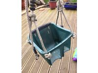 Toddler/infant bucket swing