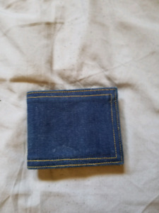 Jean Material Wallet  - Brand New