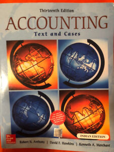 Accounting : Text and Cases