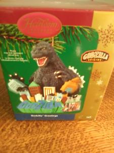 Godzilla ornament with sound