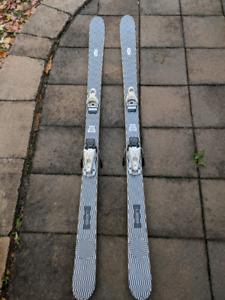 Skis twin tip Elan Illusion 168
