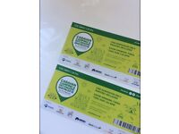 2 x tickets Caravan and camping and motorhome show birmingham NEC plus free parking any date