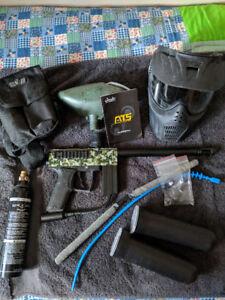 Azodin ATS paintball gun + gear!