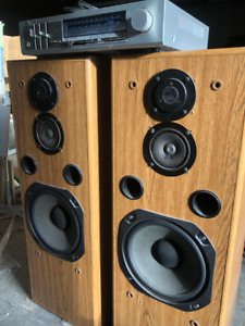 Fisher speakers and JVC receiver