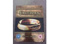 Extended edition Lord of the Rings box set