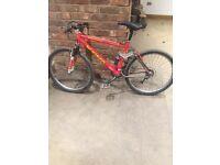 Kona old school mountain bike