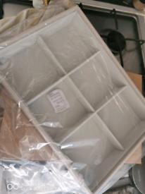 Brand new genuine leather jewellery organiser storage tray