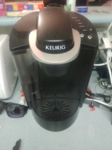 Keurig and two holders