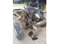 Land Rover Discovery 300 TDI front & rear axles