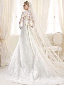PRONOVIAS wedding dress (original price: 2400$) West Island Greater Montréal image 5
