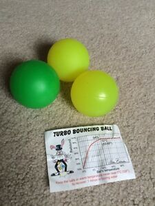 Turbo Bouncing Juggling Balls Kitchener / Waterloo Kitchener Area image 1