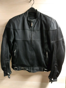 Mesh Motorcycle Riding Jacket - mens large