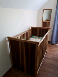 Handcrafted Solid Wood Crib