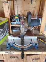 "10"" Miter saw single bevel"
