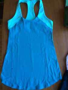 Lululemon tanks, shorts, pants size 4-6