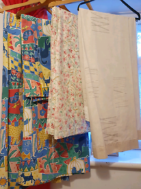 Free 3 pairs curtains