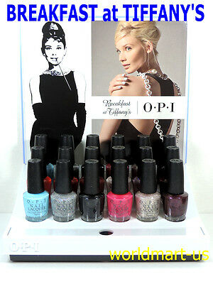OPI Nail Polish Lacquer BREAKFAST at TIFFANY'S Collection Choose Any Color