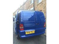 Mercedes Vito 110 CDI - Insulated, lined and carpeted, perfect camper conversion