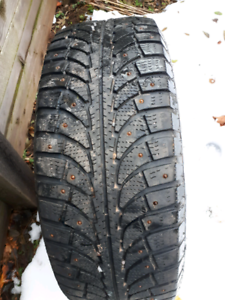 Winter Tires (studded) on rims