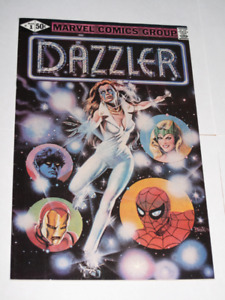 Marvel Comics Dazzler#1 Spider-Man! comic book