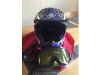 AGV motor cross helmet