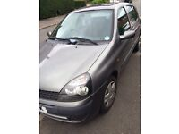 Renault Clio 2001, 70,000 miles only