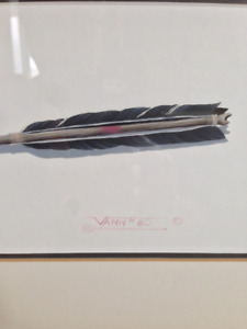 ORIGINAL painting by famed Cherokee artist DONALD VANN