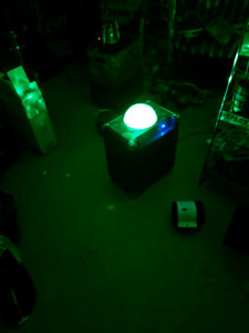 Ion Party Rocker light show bluetooth speaker with aux in