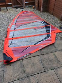 Windsurfing sails