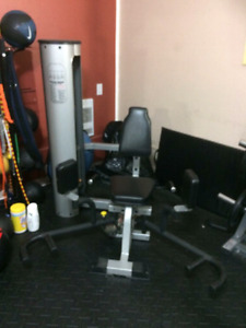 Inner and outer thigh (adductor and abductor) machine
