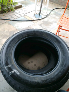 (2) BF Goodrich Winter Slalom tires- 195/65/15 - $75