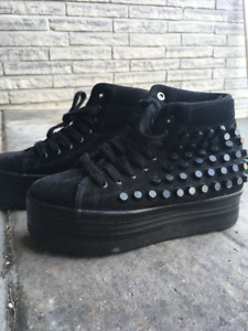 Jeffrey Campbell High sole sneakers