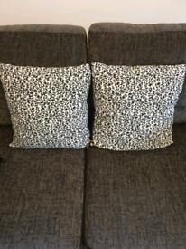 River Island Animal Print Cushions x2