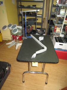 Folding Portable Dog Grooming Table For Sale At Nearly New