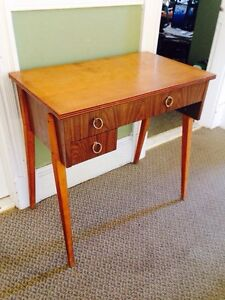 Vintage 1960's Sewing Table, Repurposed So No Machine Cabinet