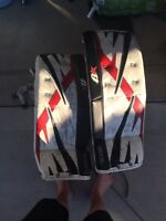 Bryans youth goalie pads