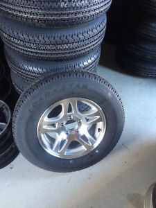 Brand New ST 205/75 R15 Trailer Rims and Tires London Ontario image 1