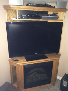 TV Entertainment Centre - Corner Unit