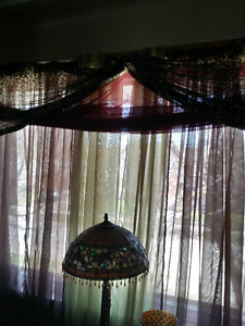Scarf Valance & Sheers