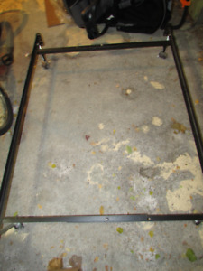 Double Bed Metal Bed Frame Kijiji In Greater Montreal Buy Sell