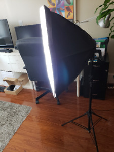 3 Softbox lights  (ePhoto Digital Photography/Video 2400 Watt )