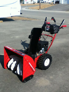 2011 24-inch Troy Bilt Snowblower