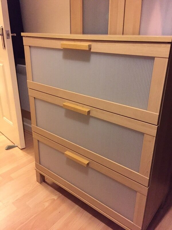 Ikea Aneboda 3 Drawer Chest Of Drawers